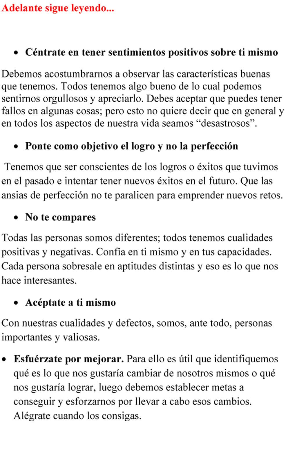 COMO TE VES La autoestima-7